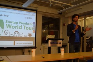 startup weekend travel