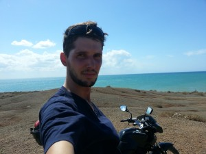 colombia motorbike